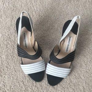 "Authentic handmade Manolo sandals 2"""